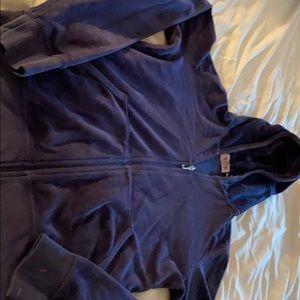 Juicy Couture navy velour sweatshirt size large